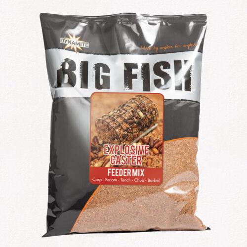 FULL RANGE AVAILABLE DYNAMITE BAITS BIG FISH GROUNDBAIT 1.8KG
