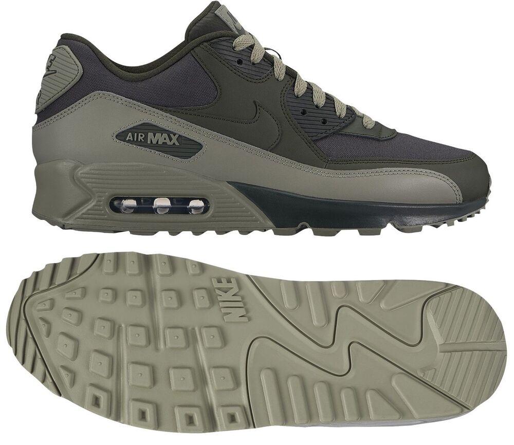 NIKE AIR MAX 90 ESSENTIAL Homme RUNNING SEQUOIA - DARK STUCCO AUTHENTIC NEW SIZE Chaussures de sport pour hommes et femmes