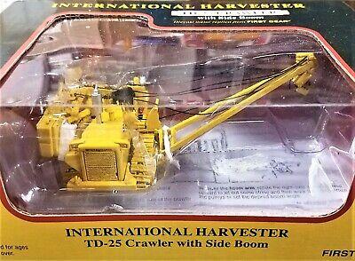 80-0317 International Harvester TD-25 Crawler with Side Boom 1//87 HO