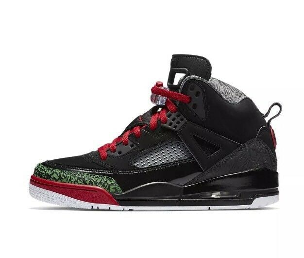 Men's Size 9 Nike Air Jordan Spizike Black Green Varsity Red DS 315371-026