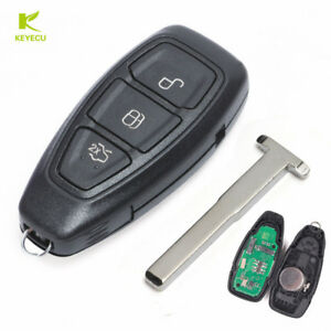 Image Is Loading 3b Remote Key 433mhz Id83 For Ford Focus