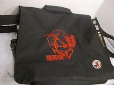 """FULLMETAL ALCHEMIST 14"""" SCHOOL BAG BLACK & RED LOGO SHOULDER COMPUTER BAG"""