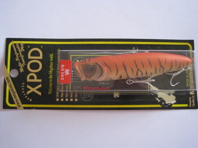 Megabass ito XPOD TORA (TIGER) color 2010 Limited color NIP    X POD