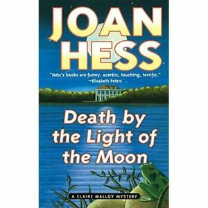 Death-by-the-Light-of-the-Moon-A-Claire-Malloy-Myster-Paperback-NEW-Hess-Jo