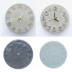 Cement-Concrete-Silicone-Mold-DIY-Craft-Clock-Making-Clay-Plaster-Mould