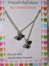 Freundschaftskette Best Friend Mädchenkette Krone silber 30052