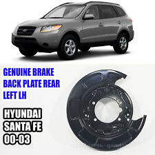 5825126000 Brake Back Plate Rear Left LH For HYUNDAI SANTA FE 2000 2003