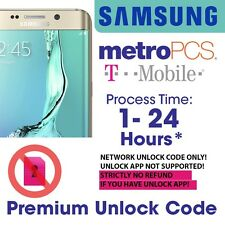 RAPID UNLOCK CODE T-MOBILE Metropcs SAMSUNG GALAXY S5 S4 S3 S2 S1 NOTE 3 2 more