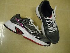 Womens Saucony Grid Marauder 2 Running Shoes Size 6 6.5 7 Navy Blue Grey S15328