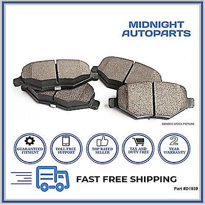 Rear Ceramic Brake Pads /& Brake shoes 2SET Fits Isuzu i-280 Centric Front