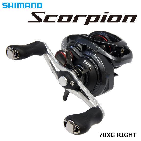 Shimano 17 17 17 SCORPION 70-XG Baitcasting Reel Nuovo! b3a283