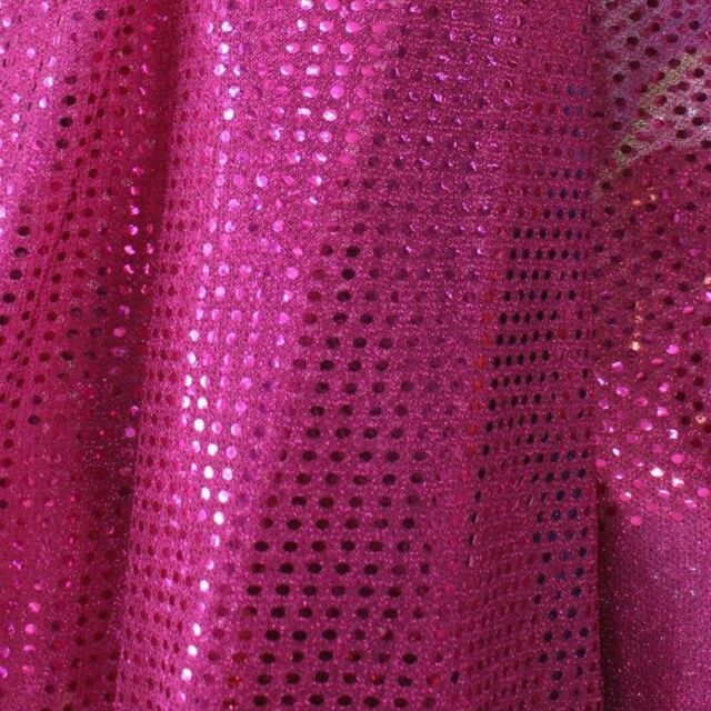 "SMALL DOT CONFETTI SEQUIN FABRIC 45"" Wide sold By The Yard Home Decoration"