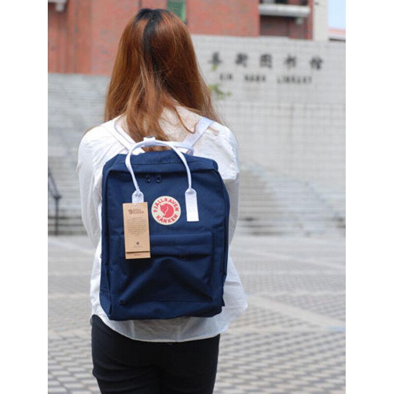 20L/16L/7L Fjallraven Kanken unisexe voyage sac à dos bandoulière sac d'école FR 5