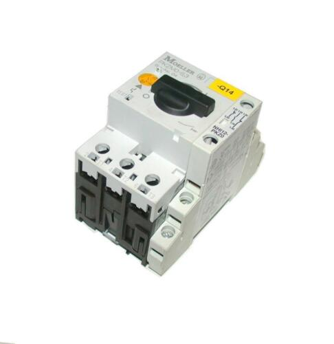 MOELLER PKZM0-6.3  MOTOR OVERLOAD 4-6.3 AMP W//AUXILIARY CONTACT BLOCK