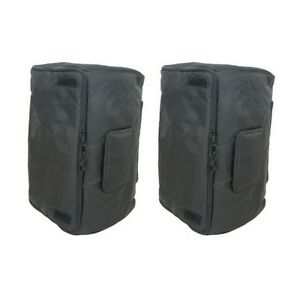 Universal-15-034-Speaker-Cabinet-Bag-Cover-Fits-Peavey-Pro15-amp-Mackie-Thump-15-PAIR