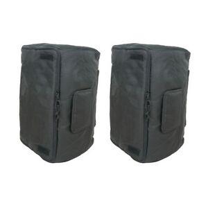 Universal-15-Speaker-Cabinet-Bag-Cover-Fits-Peavey-Pro15-Mackie-Thump-15-PAIR