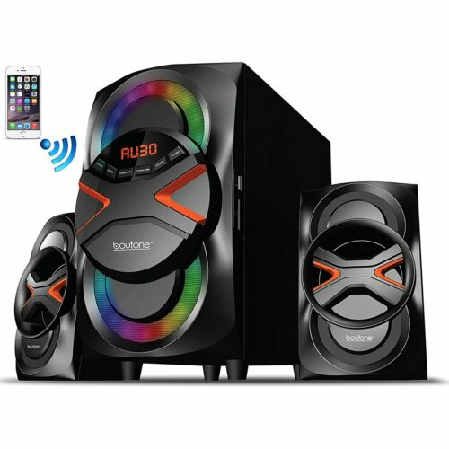2.1 Bluetooth Powerful Home Theater Speaker System Details about  /BT-326F with FM Rad