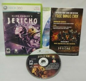 Clive-Barker-039-s-Jericho-Game-Microsoft-Xbox-360-Rare-Tested-Works