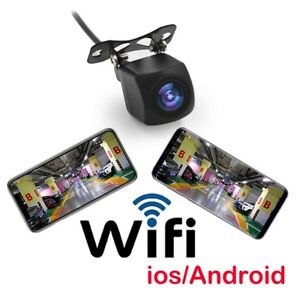 Camara-trasera-Wifi-Coche-marcha-atras-vision-nocturna-Iphone-IOS-Android
