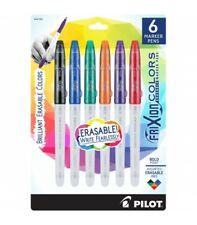 Pilot Frixion Colors Erasable Marker Pen Bold Point 25mm Asst Colors 6box