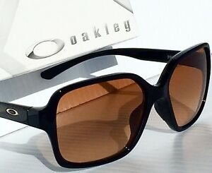 f04bea0d1c3 NEW  Oakley PROXY BLACK w VR50 Gradient Brown lens Women s Sunglass ...