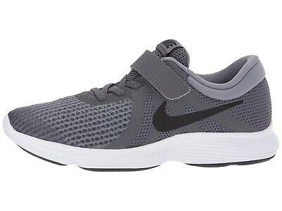 Nike Boy's Revolution 4 (PSV) Little Kid Running Shoes 943305 005 Dark Grey | eBay