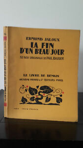 Edmond-Celoso-La-Fin-D-039-Un-Hermoso-Jour-1926-Edicion-Artheme-Fayard
