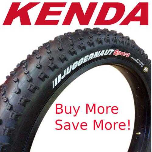 """Kenda Juggernaut Sport DTC 26/""""x 4.0/"""" K1151 Fat Bike Tire Wire Bead MTB"""