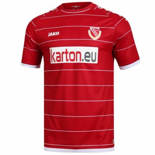 Jako Fußball FC Energie Cottbus Home Trikot Heim 2019 2020 Herren rot
