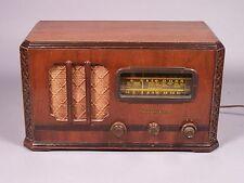 Vintage Stromberg Carlson Model 410-H Radio - Works - 1938 Chippendale Design