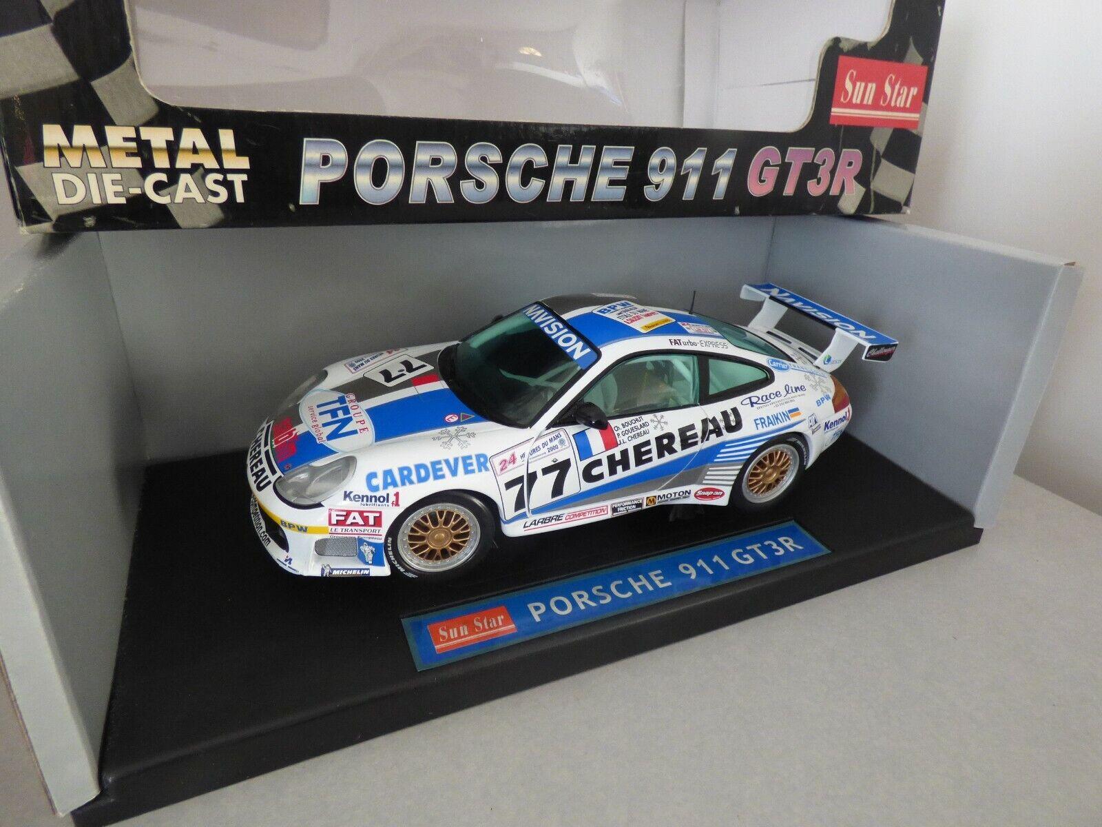 Porsche 911 gt3r n - 77 - larrabe chero chero chero 24 horas Le Mans 2000 - sunEstrella 1   18 571