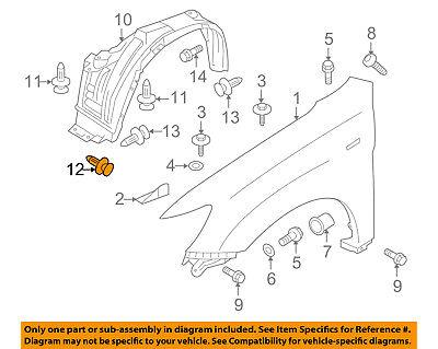 10x Fender Liner Splash Shield Push Clip Retainer Blind Rivet Fit Mitsubishi