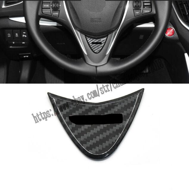 Carbon Fiber Steering Wheel Decorative Frame Cover For