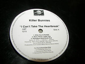 Killer-Bunnies-I-Can-039-t-Take-The-Heartbreak-12-034-Single-NM-PROMO-U8P1215-1997