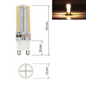 9W G9 LED COB Dimmbar Birne Leuchtmittel Halogenlampe Warmweiß Kaltweiß Lampe
