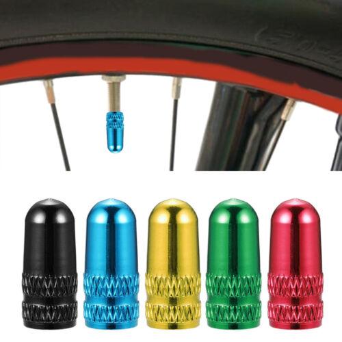 10PCS//SET Bike Bicycle MTB Presta Wheel Rims Tyre Stem Air Valve Caps Dust Cover