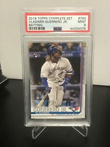 2019-Topps-VLADIMIR-GUERRERO-JR-RC-700-HIT-VARIATION-Rookie-PSA-Mint-9-Toronto
