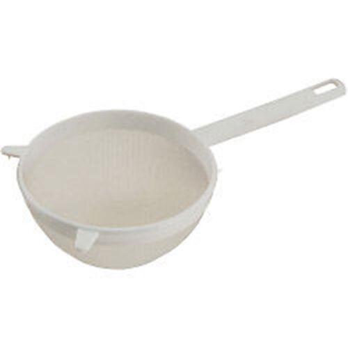 Extragroß Weißes Plastik Nylon Tee Sieb Abtropfgefäß´ Sieb 15cm