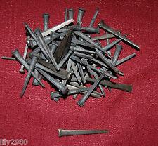 """1 lb Vintage Antique Steel Cut Square TREMONT Nails for Reproduction 2.25"""" 57 cm"""