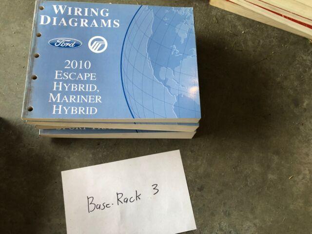 2010 Ford Escape Hybrid  Mariner Hybrid Electrical Wiring