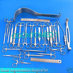 54 Pcs Breast Augmentation Surgical Instrument Set DS-971 | eBay