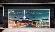 Garage Door 3d Banner Plane Aircraft Helicopter Outdoor Outside Sticker Art GD88