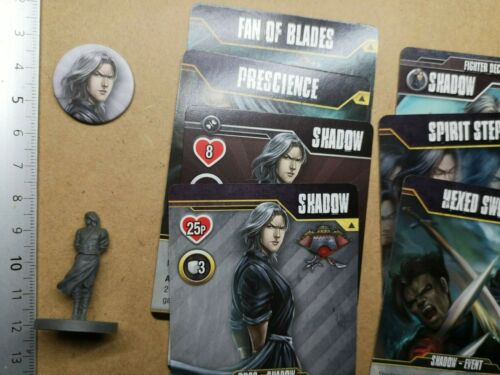 SHADOW//  FIGHTER MINIATURE+CARD //STREET MASTERS//AFTERSHOCK G55