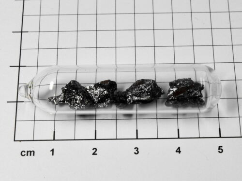 Boron pieces 1 gram 99.5/% purity sealed in ampoule