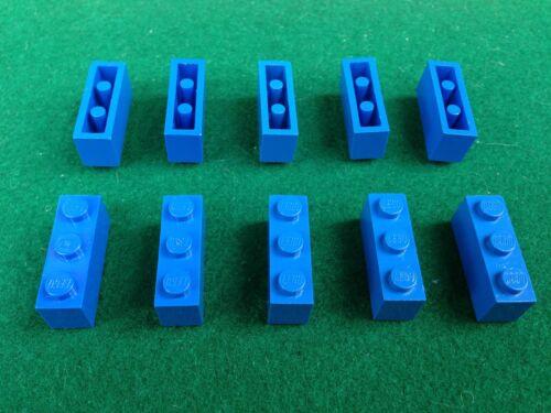 10 Mattoncini Brick Basic Stein 1x3 3622 BLU BLAUE BLUE LEGO