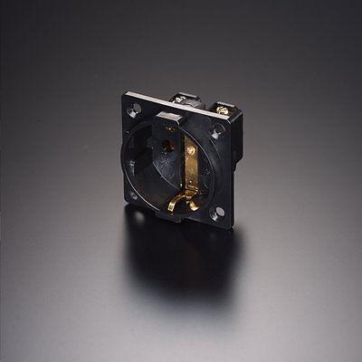 Furutech FI-30 NCF Rhodium Schuko Einbau-Steckdose Nano Crystal 860483 R