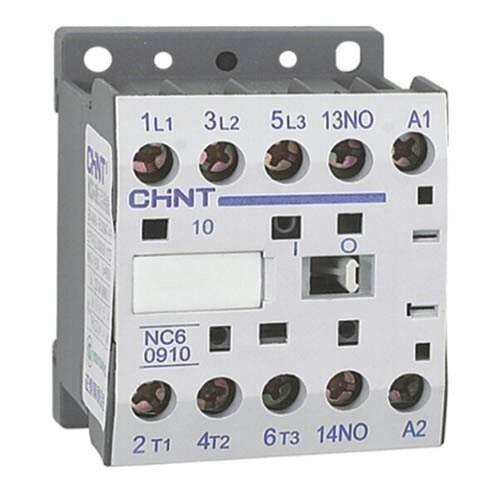 1 no Aux Contactor Chint Mini 24VAC 9A//4.0Kw AC3 3P 3 polos principales
