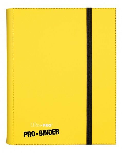 Album - binder ordner portfolio a4 gelb für 360 karten pokémon - magie 45650