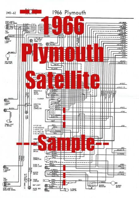 1971 Plymouth Satellite Wiring Diagram