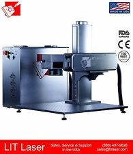 New 10w Mopa Industrial Fiber Laser Marking Engraving System 5 100nsec Pulse